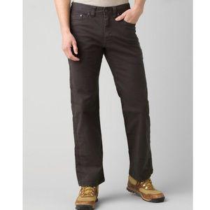 Prana Men's charcoal Bronson hiking/climbing pants